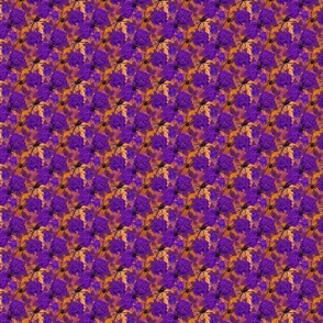 Web of roses small purple