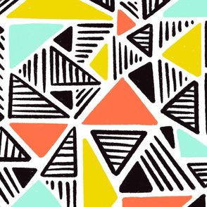 Bold and blocky triangles