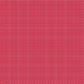 Star storm microdot- red