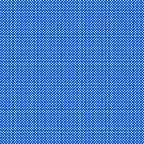 Star storm Microdot - bright blue