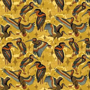 Cosmic cranes color