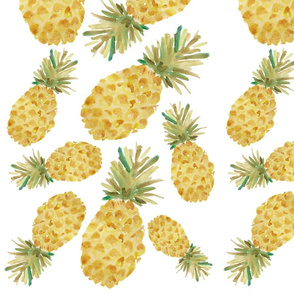 Pineapple Party - White