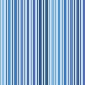 Striped - Blue