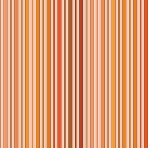 Striped - Orange