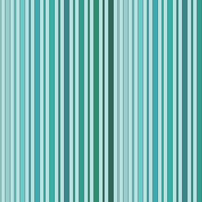 Striped - Turquoise