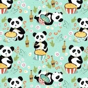 Hungry Panda blue