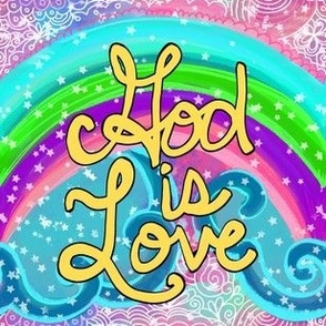God is Love Rainbow