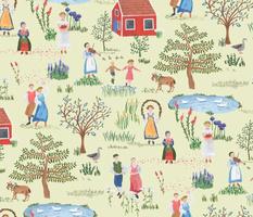 Swedish Folk Art Midsummer