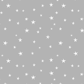 Messy stars little boho starry night universe minimal trend nursery gray white