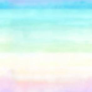 Rainbow Ombre Watercolor