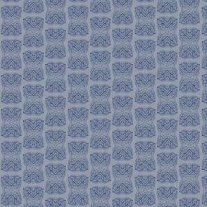 Leaf Veins - Grey Blue