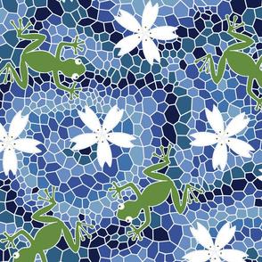 midsommer frogs flowers D cleaner lines spoonfloer zb 6300pixels offset i cyanA jjjjjjjjjjjjjjjJjJ eq white hide-final