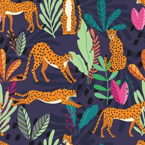 Cheetah pattern 02