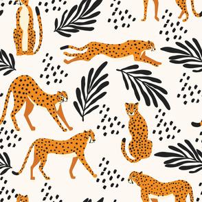 Cheetah pattern 09