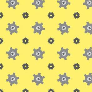 Yellow gear
