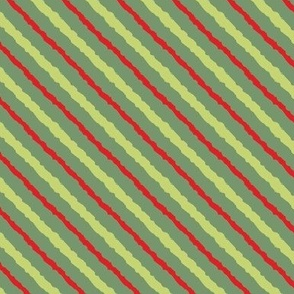 Candy Stripes Christmas Morning
