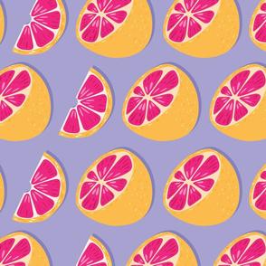 Fruit Grapefruit Pattern 019