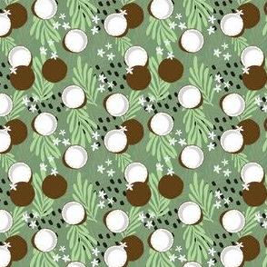 Fruit Coconut Pattern 035