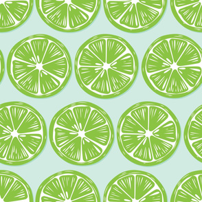 Fruit Lime Pattern 040
