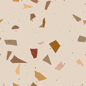 Terrazzo Coral beige