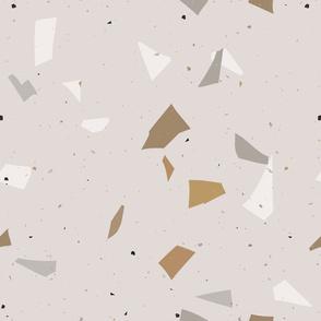 Terrazzo grey  beige