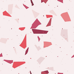 Terrazzo Coral pink