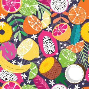 Fruit Tropical Pattern 048