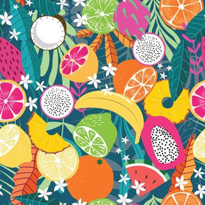 Fruit Tropical Pattern 049