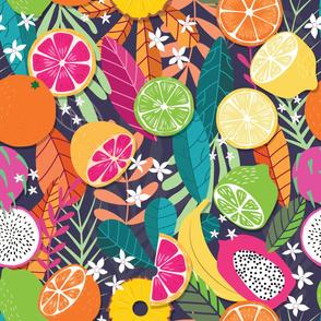 Fruit Tropical Pattern 050