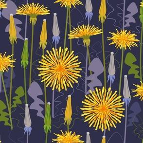 Festival dandelions
