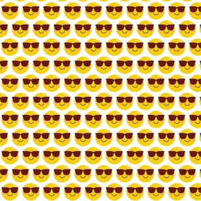 cool shades dude SM :: cheeky emoji faces .75""