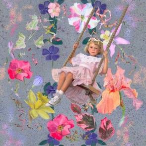 Hand-Painted Swinging into Midsummer
