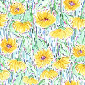 Midsummer Sunflowers