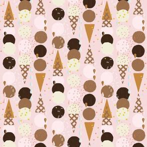 Ice Cream Cones Small by Friztin