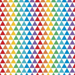 Triangle Kaleidoscope | Bright