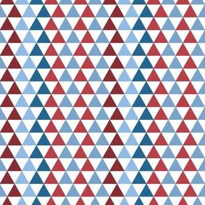 Triangle Kaleidoscope | Patriotic