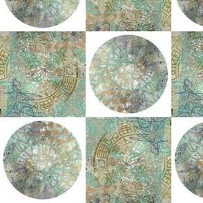 Old Wall Geometric Pattern