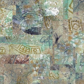 Old Wall Patchwork