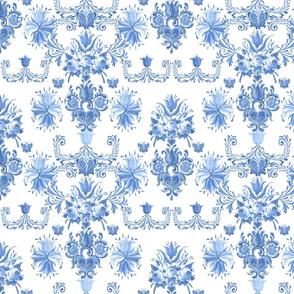 midsummer fabric (blue)50