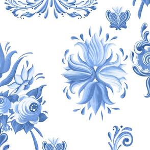 midsummer fabric jumbo (blue)