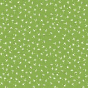 puff ditsy avocado