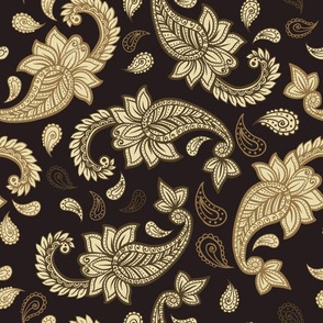 Paisley like Damask