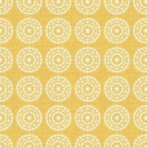 set dandelion gold