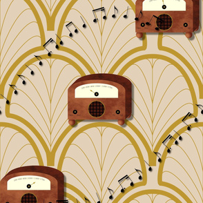 Retro Radio Relaxation by Shari Lynn's Stitches