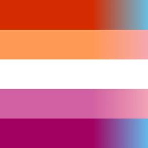 Trans Lesbian custom flag