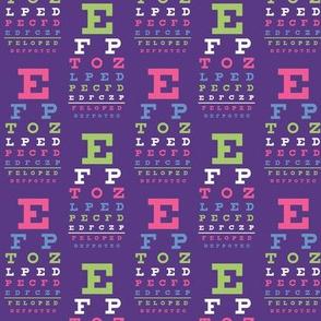 small fiesta vision chart