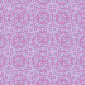 Abstract Polygons Pink Blue