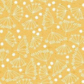 swedish dill on yellow, small