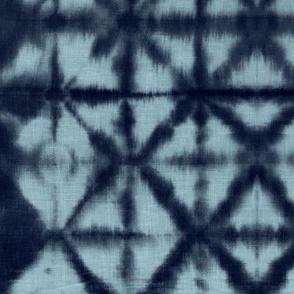 Soft tie dye boho texture summer shibori traditional Japanese neutral cotton print navy blue winter