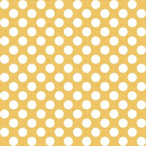 polka dots yellow medium
